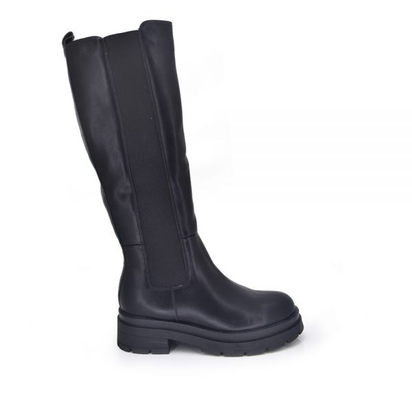 BOOT WITH BUCKLES EX173 BLACK