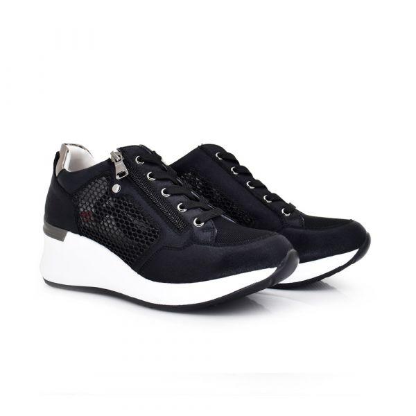 DEPORTIVA REJILLA BLACK EX2205
