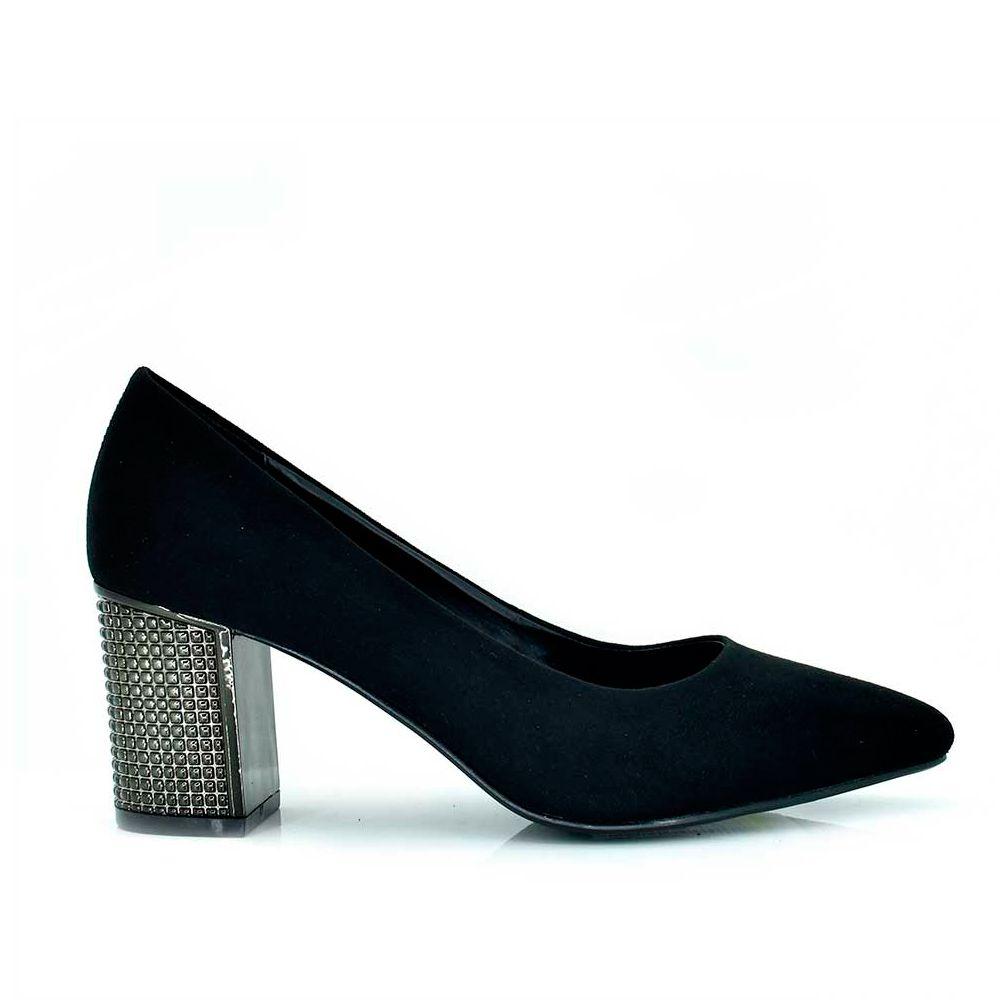 Salones tacon ancho exe shoes