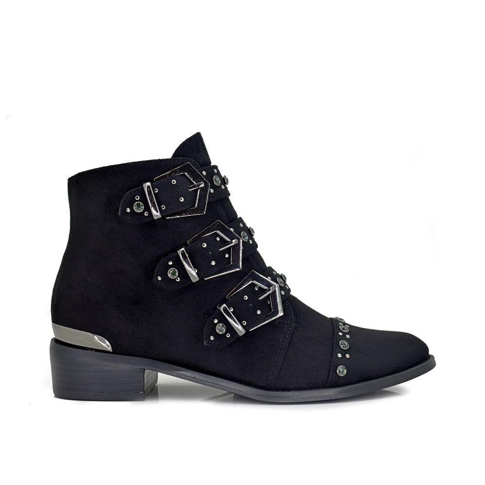 Botines con hebillas cowboy exe shoes