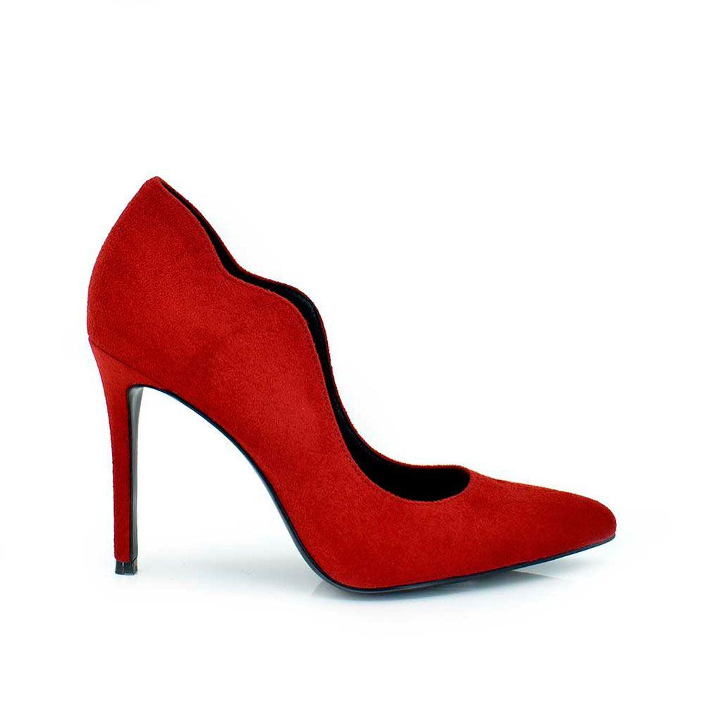 Zapato tacon corte onda