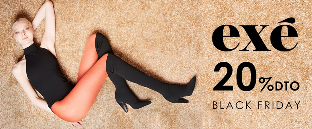 Black Friday Exé Shoes: ¡¡20% de locura en toda la web¡¡