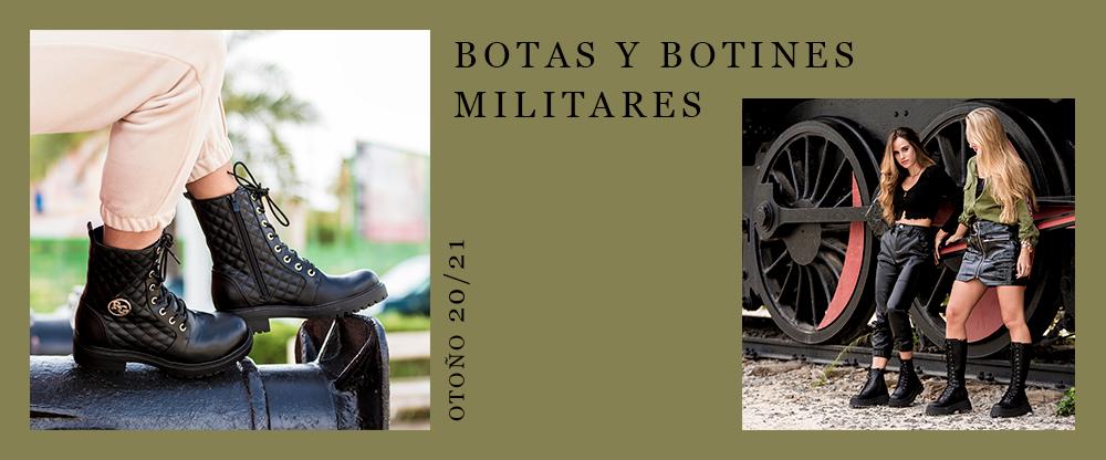 Botines y botas militares Exé Shoes