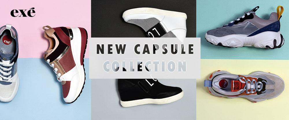 Nueva capsule collection de sneakers de Exé Shoes
