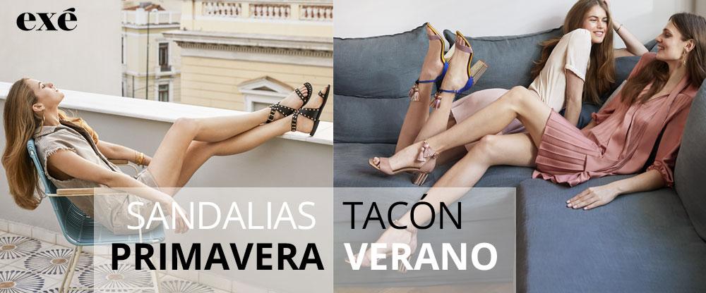 Nueva colección sandalias de tacón primavera verano 2020