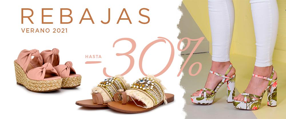 Rebajas de verano 2021 - ¡hasta el 30% de descuento en zapatos de mujer!
