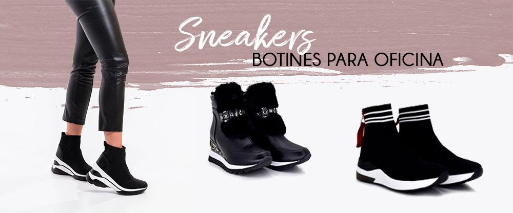 Sneakers botín ¡a la oficina con estilo!