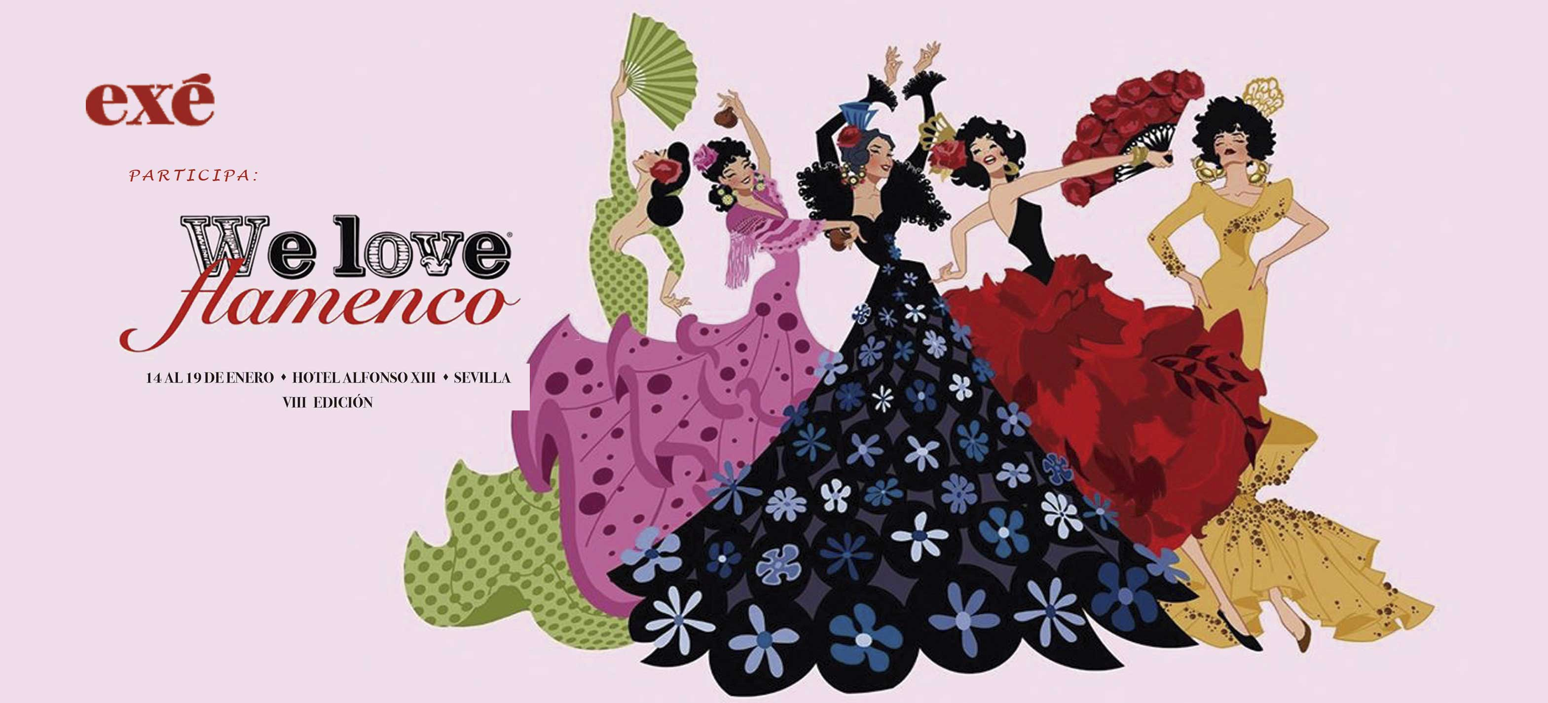Exé Shoes, en la pasarela de moda flamenca We Love Flamenco