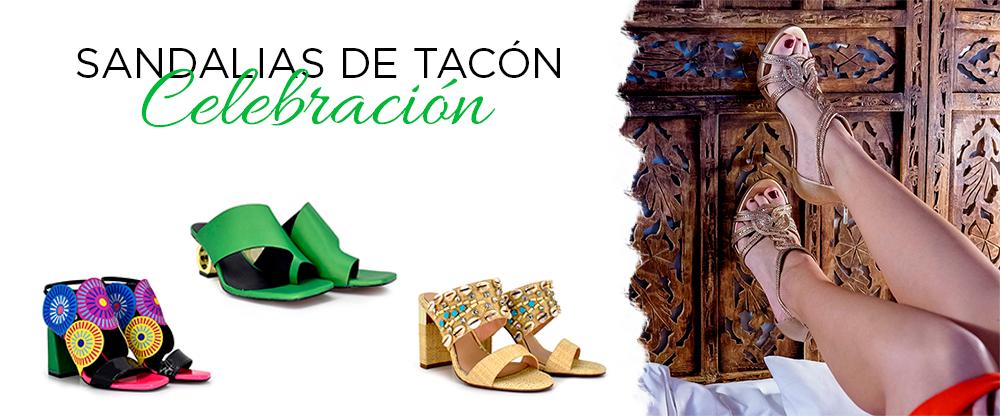 Sandalias de tacón para celebraciones -¡moda y sol llegan a tu calzado!