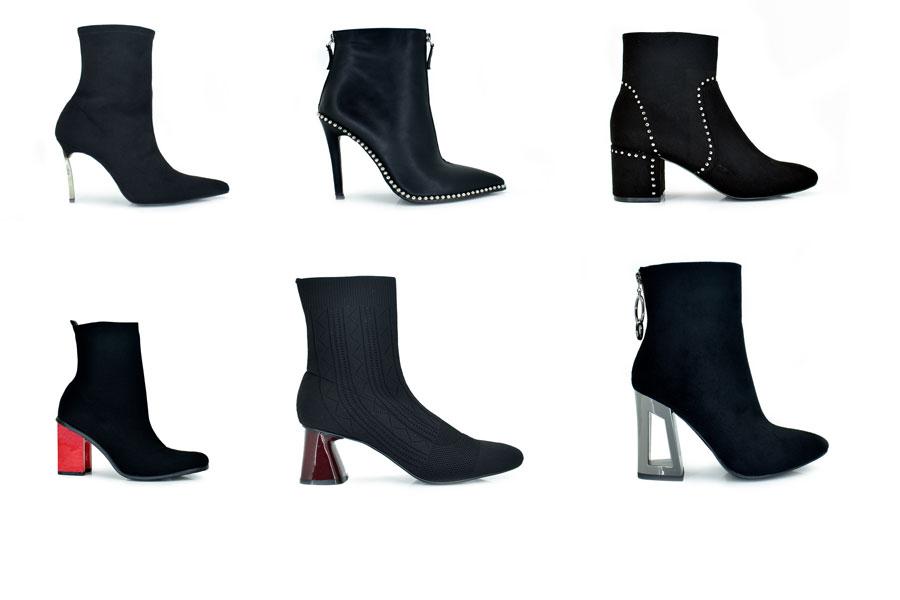 Botines negros para vestido